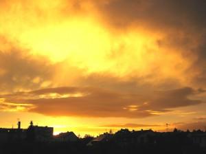 Západ slunce 7.8.2011