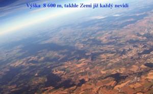 Výška 8600 m