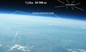 Výška  30 900 m