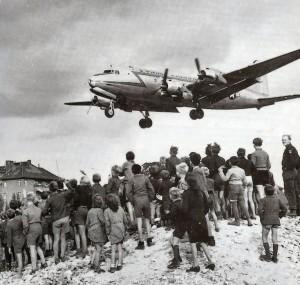 C-54 landing at Templehof