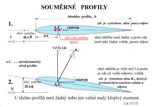 32 Souměrný profil