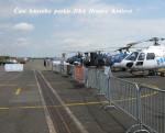 Část letového parku DSA