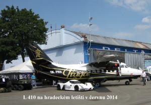 L410 na hradeckém letišti 6-2014