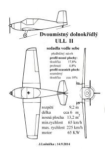 506 Dvoumístný dolnokřídlý ULL  II