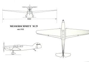 MesserschmittM 29