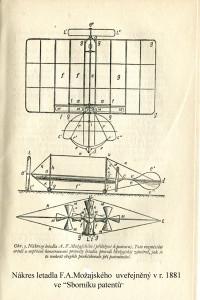 Výkres  letadla A.F.Možajského