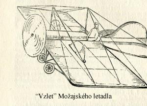 Vzlet Možajského letadla