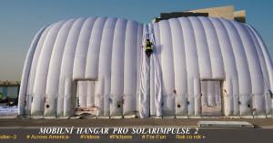 mobilní hangar