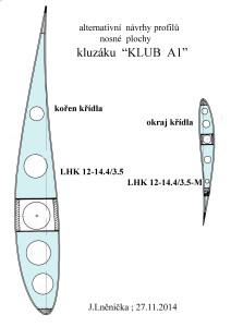 24  altern. profily křídla  KLUB A1