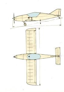 215a Jednomístný ULL - návrh – kopie