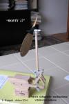 Návrh zaklápěcího mechanizmu vrtul. pohonu Rorýse 12