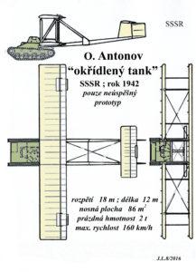 11 Antonov - okřídlený tank